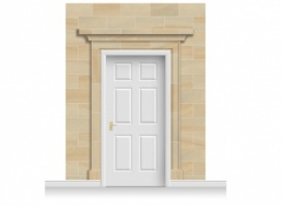3-Drop Dartford Door Set Mural (280cm)