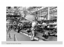 3-Drop Reminiscence Mural - Ford Factory, Dagenham c1950