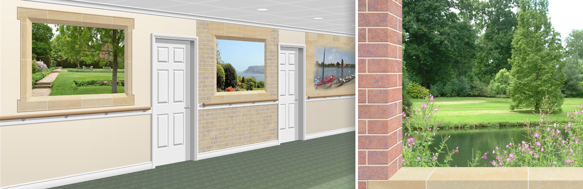 Decorative Murals for Care Homes