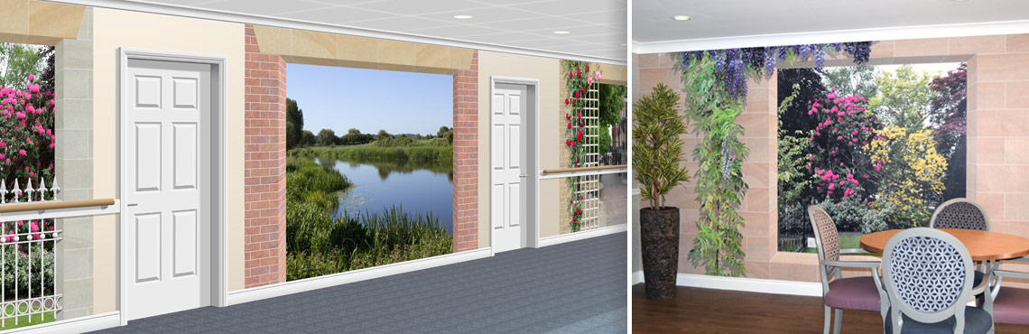 Scenic Murals for Care Homes