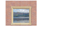 Window Frame Murals