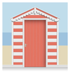 Beach Hut Murals