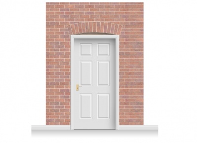 3-Drop Kingston Door Set Mural (280cm)