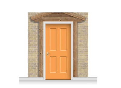 3-Drop Padstow Door Set Mural (240cm) + Door Print