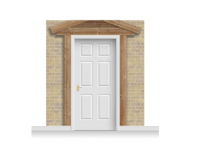 3-Drop Padstow Door Set Mural (240cm)