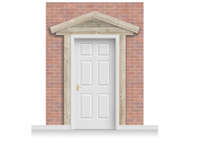 3-Drop Peterborough Door Set Mural (280cm)