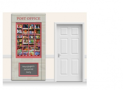 Colchester Post Office & Shop Rollamural
