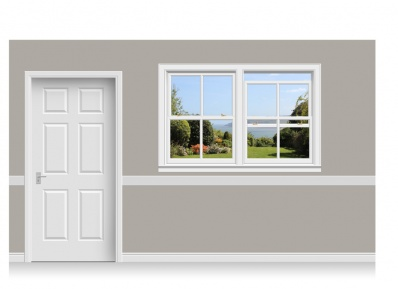 Self-Adhesive Window Stick-Up - Yorkshire Coast (180cm x 120cm)