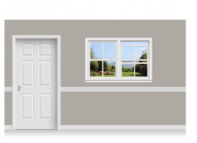 Self-Adhesive Window Stick-Up - Yorkshire Coast (150cm x 100cm)
