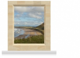 2-Drop Scenic Mural - Gower Coast (280cm)
