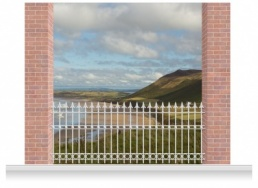 3-Drop Scenic Mural - Gower Coast (280cm)
