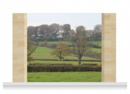 3-Drop Scenic Mural - Cotswolds (240cm)