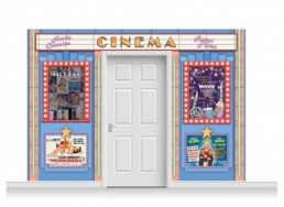 3-Drop Guildford 'Cinema' Mural (240cm)
