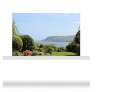 2-Drop Scenic Mural - Yorkshire Coast (150cm)