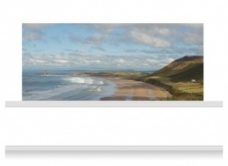3-Drop Scenic Mural - Gower Coast (150cm)