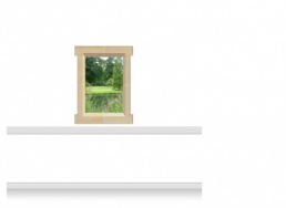 1-Drop Window Mural Sticker - Lincolnshire Parkland (90cm x 120cm)