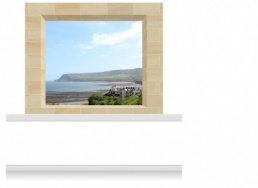 2-Drop Window Opening Mural - Gower Headland (190cm)