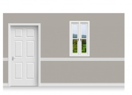 Self-Adhesive Window Stick-Up - Derbyshire Hill (67cm x 120cm)