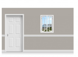 Self-Adhesive Window Stick-Up - Gower Headland (75cm x 100cm)